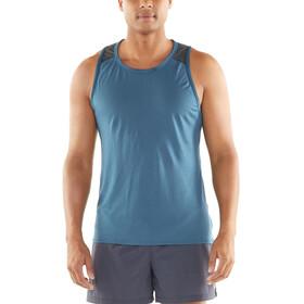 Icebreaker Amplify - Camiseta sin mangas running Hombre - azul